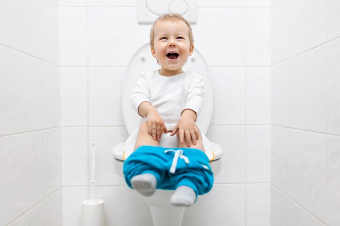toilettes aménager pour l'enfant