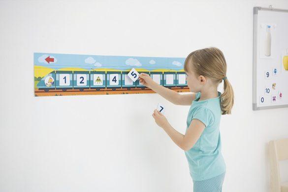 Frise numérique Montessori