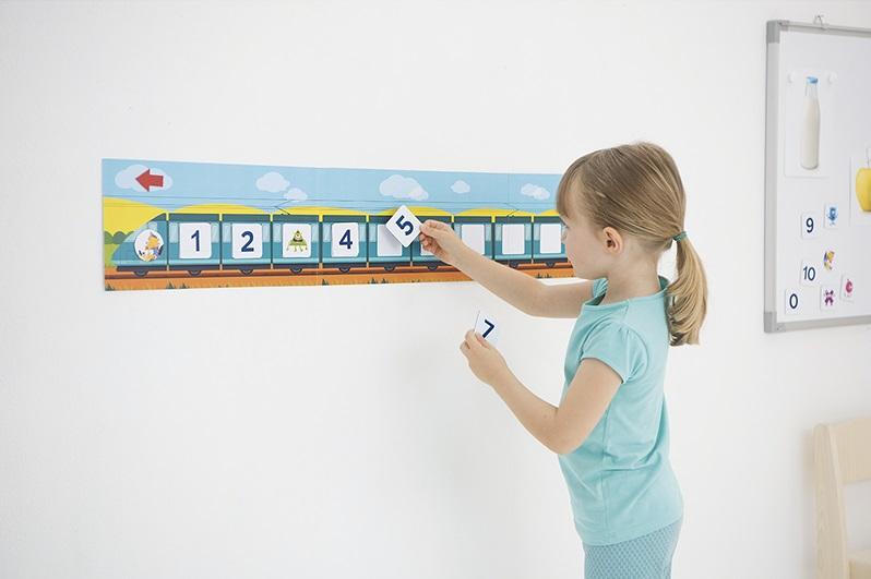 Frise numérique Montessori: bienfaits et utilisation