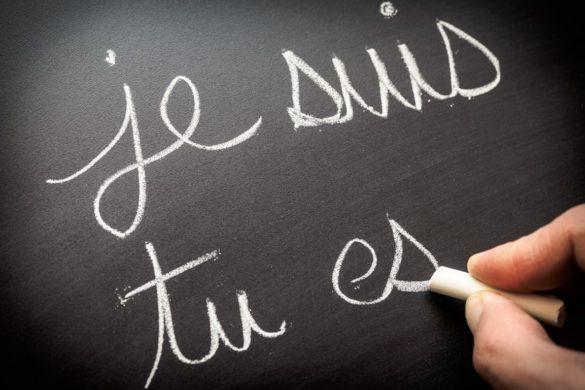apprendre la conjugaison selon Montessori