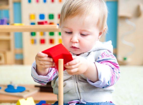 jouets Montessori pour bébé de 2 ans