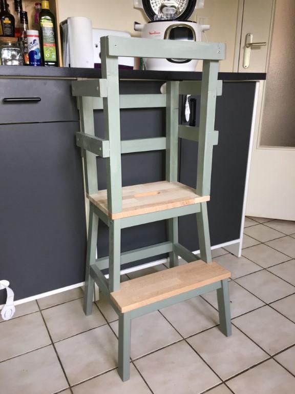 tour d'observation Montessori dans une cuisine