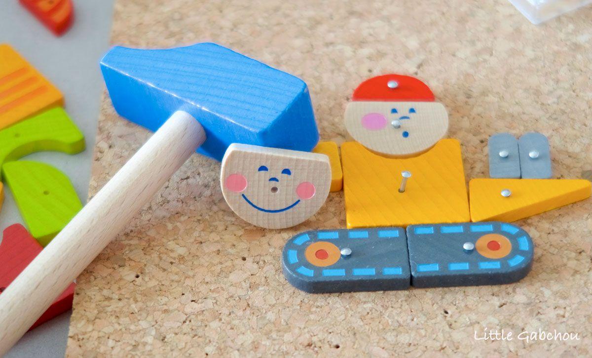 Jeux de clous Montessori