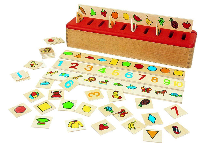boite de tri Montessori