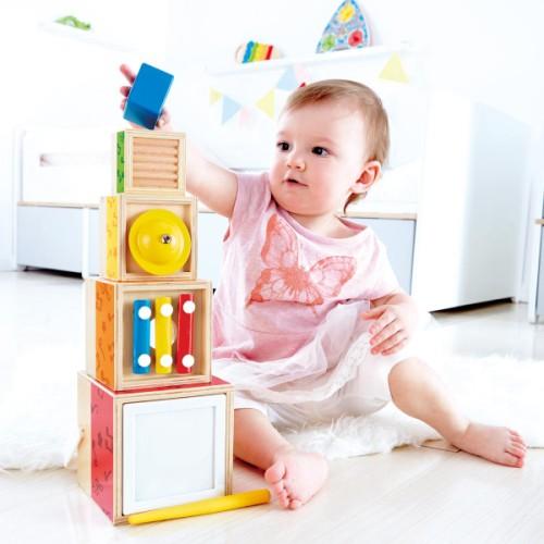 boites gigognes jouet montessori bébé 2 ans