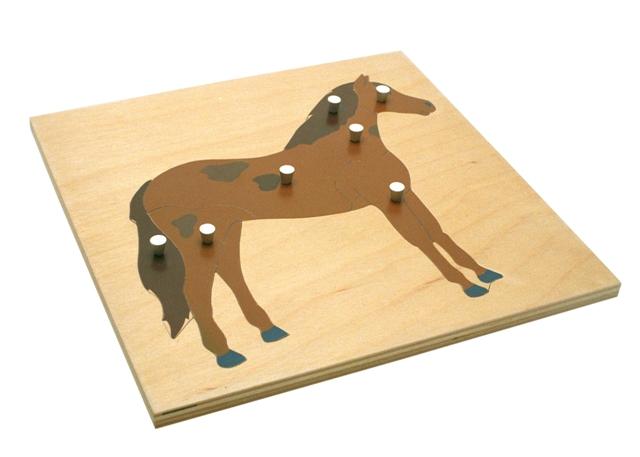 puzzle du cheval montessori